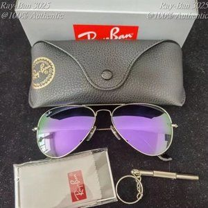Ray-Ban 3025 Aviator Fashionable style 58MM